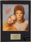 DAVID BOWIE -  PINUPS -   Framed LP Cover